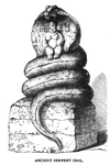Ancient Serpent Idol