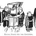 Eating Stand for the Children