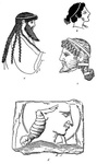 Men's Head-dress—Archaic