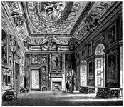Queen Caroline's Drawing-Room, Kensington Palace.