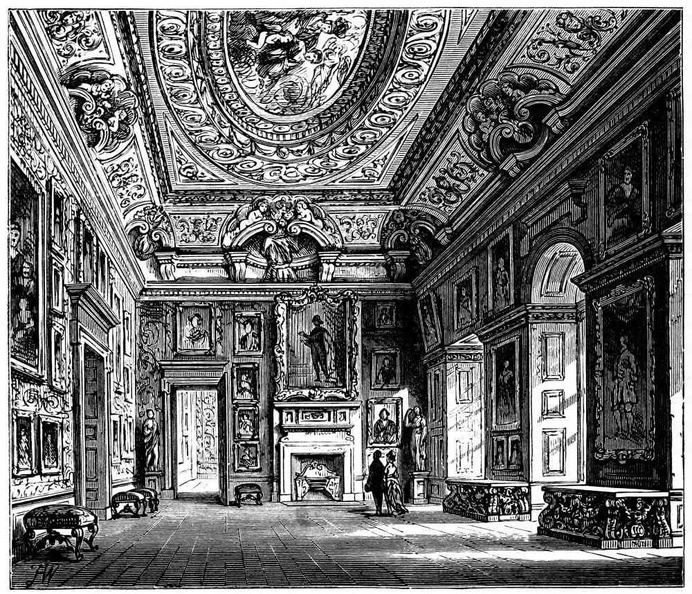 Queen Caroline'S Drawing-Room, Kensington Palace..jpg