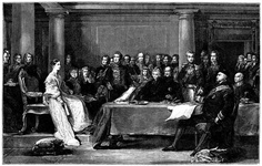 The Queen's First Council