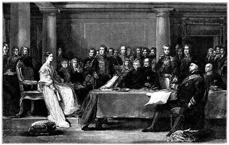The Queen's First Council.jpg