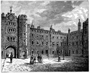 Courtyard of St. James's Palace