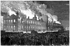 Burning of the House of Assembly