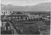 Gladiator barracks at Pompeii
