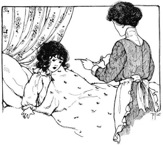 Mother giving medicine to girl in bed.jpg