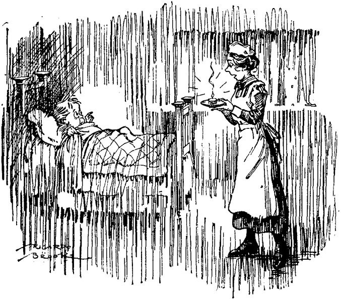 Maid bringing a candle to a scared child in bed.png