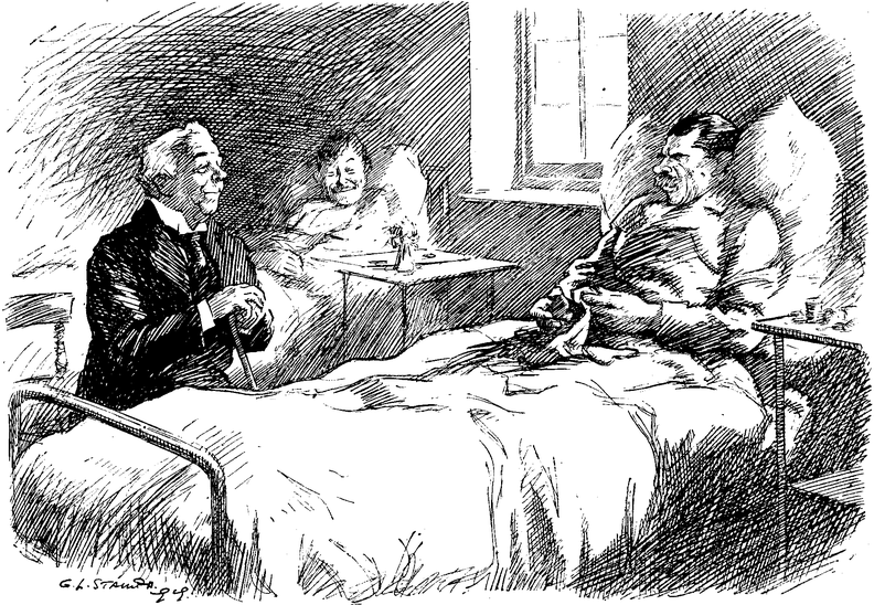 Man talking to man in hospital bed.png
