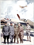 Group of French Aviators
