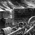 Burning of Chicago, the World's Greatest Conflagration