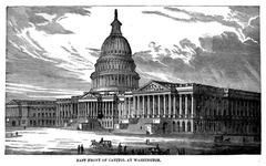 East Front of Capitol at Washington