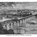 Harrisburg and Bridges over the Susquehanna