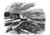 Fort Hamilton, from whence United States troops were sent to aid in suppressing the Draft Riots of 1863