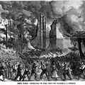 New York - Burning of the Provost Marshal's office