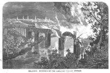 Reading - Burning of the Lebanon Valley Bridge