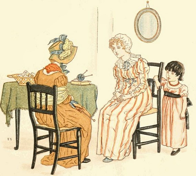 An old lady talking to a young lady and a little girl.jpg