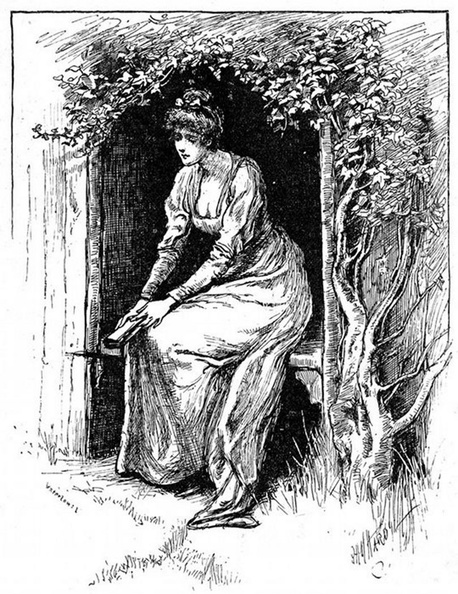 Lady sitting thoughtfully in the garden.jpg