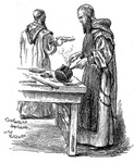 Carthusian Brothers in the Kitchen