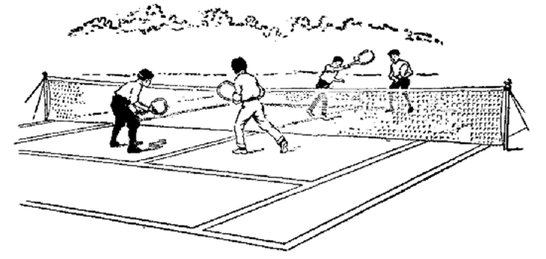 A game of doubles in lawn tennis.png