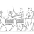 An Egyptian Funeral Cortege