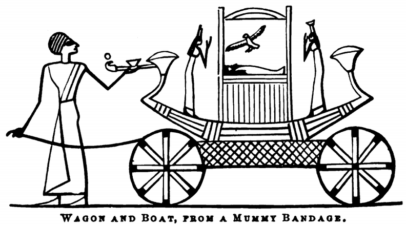 Wagon and Boat, from a mummy bandage.png
