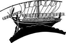 Greek merchant ship