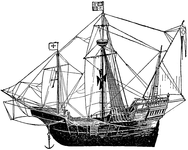 Flagship of Columbus