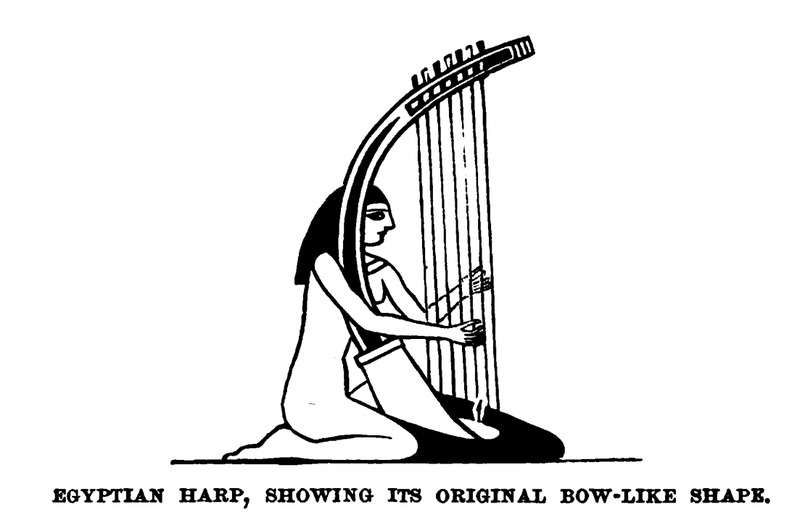 Egyptian Harp, showing its original bow-like shape.png