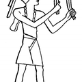 Egyptian Crotola or Castanets