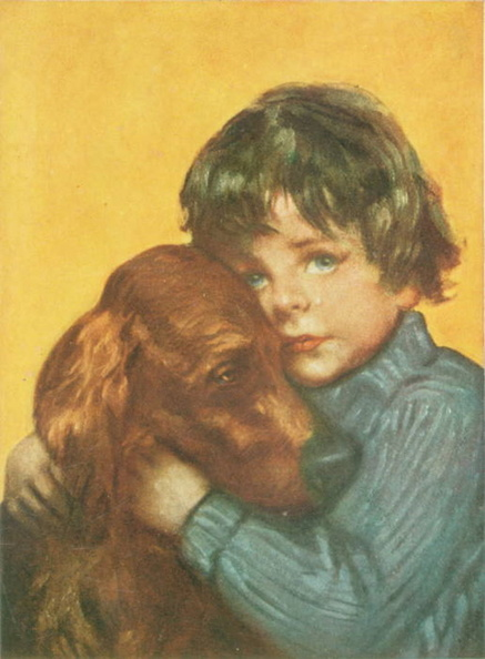 A Boy and his dog both looking sad.jpg