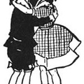 Boy and girl in affectionate hug