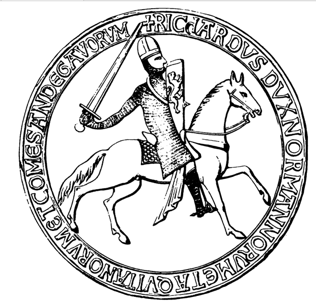 First Great Seal of King Richard I.png