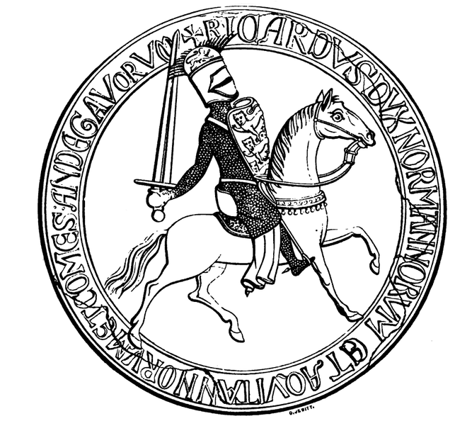 Second Great Seal of King Richard I.png