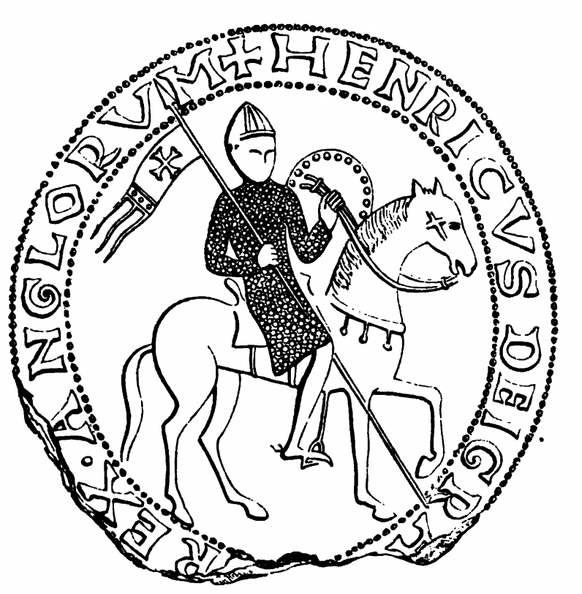 Great Seal of King Henry the First.png