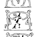 The hieroglyphics describe the dance