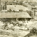 The flood strikes the Cambria iron works