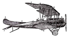 D.F.W. (German-designed) Biplane