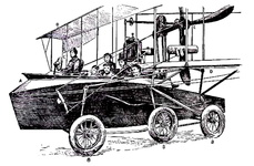 Sea-plane to carry a crew of seven