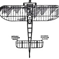 The Bleriot Monoplane - top view