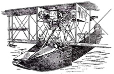 The hull of a Flying-Boat