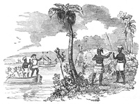 Interview of Columbus with the Natives of Cuba