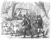 The Settlers emigrating to Connecticut