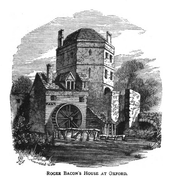 Roger Bacon's House at Oxford.jpg