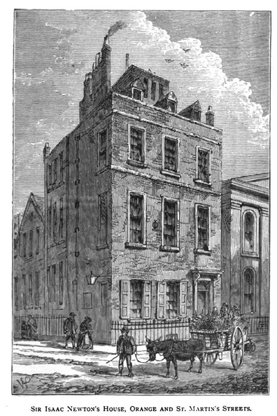 Sir Isaac Newton's House, Orange and St. Martin's Streets.jpg