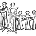 Administering holy communion with the Housel cloth
