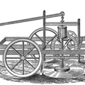 Bailey's American Mowing Machine (1822)