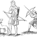 Two Saxon Archers—VIII. Century