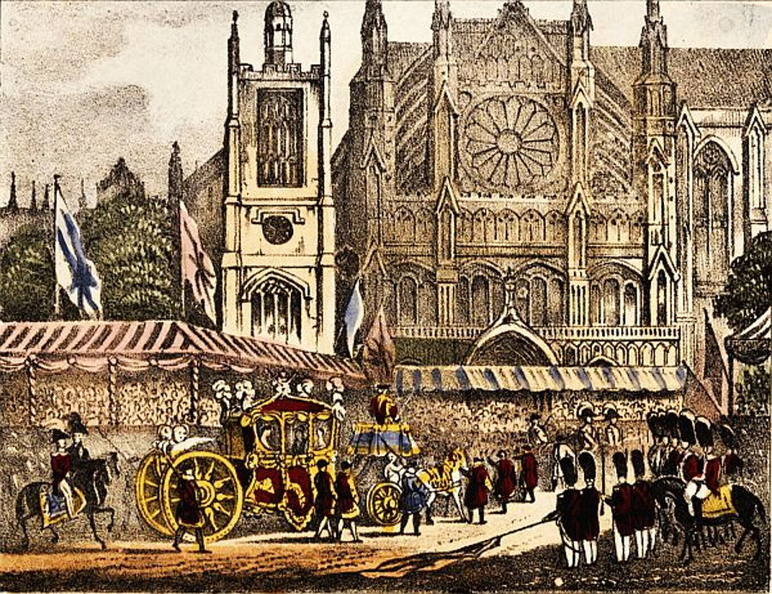 The procession approaching Westminster Abbey.jpg