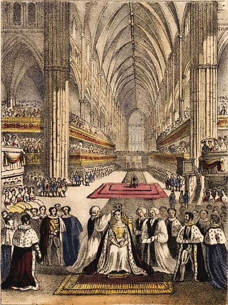 The coronation of her majesty Queen Victoria.jpg